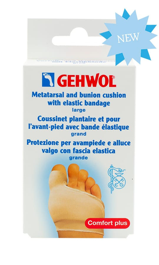 Metatarsal-bunion-cushion-elastic-bandage